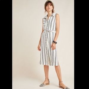 Anthropologie Esther striped dress NWT